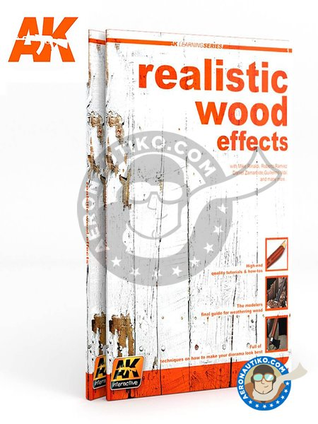 Realistic wood effects. | Book manufactured by AK Interactive (ref. AK259) image