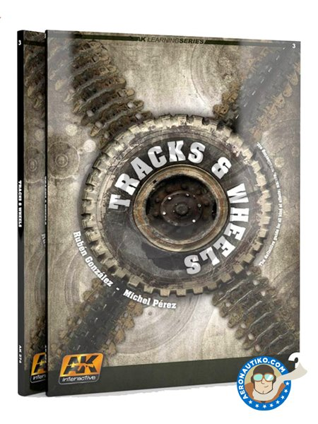 Tracks & Wheels. Learning Series 3. English | Magazine manufactured by AK Interactive (ref. AK274) image