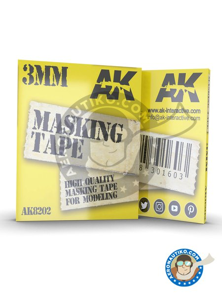Masking tape 3mm | Masks manufactured by AK Interactive (ref. AK8202) image