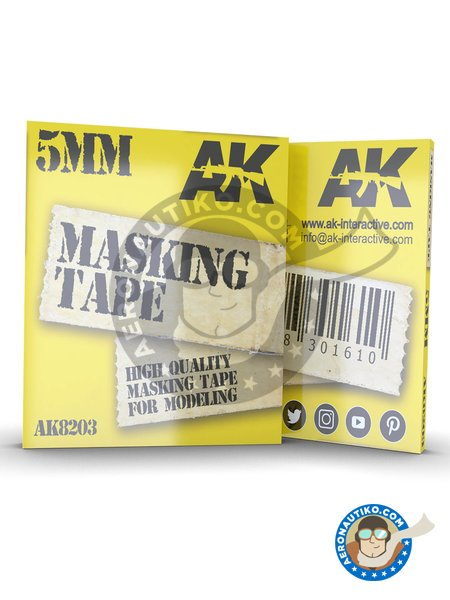Masking tape 5mm | Masks manufactured by AK Interactive (ref. AK8203) image