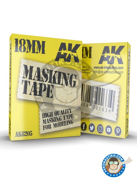 Masking tape 18mm | Masks manufactured by AK Interactive (ref. AK8205) image