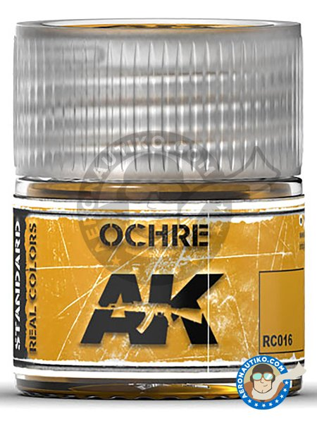 Ochre. 10ml | Real color manufactured by AK Interactive (ref. RC016) image