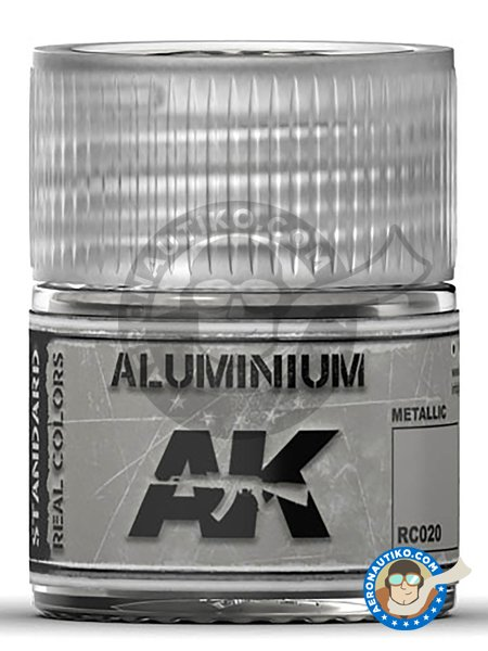 Aluminium. 10ml | Real color manufactured by AK Interactive (ref. RC020) image