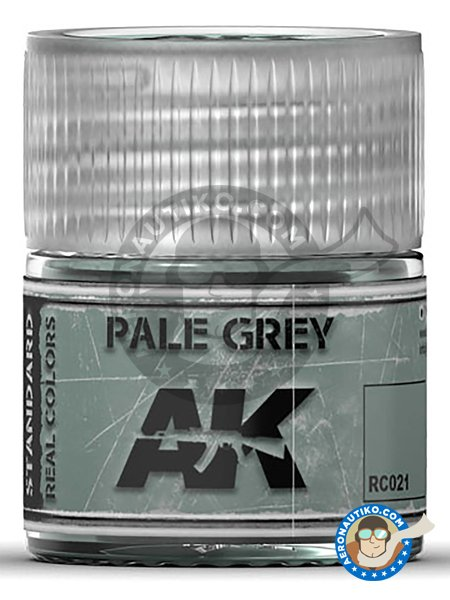 Pale grey. 10ml | Real color manufactured by AK Interactive (ref. RC021) image