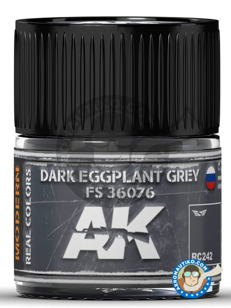 Dark Eggplant Grey FS 36076 | Real color manufactured by AK Interactive (ref. RC242) image