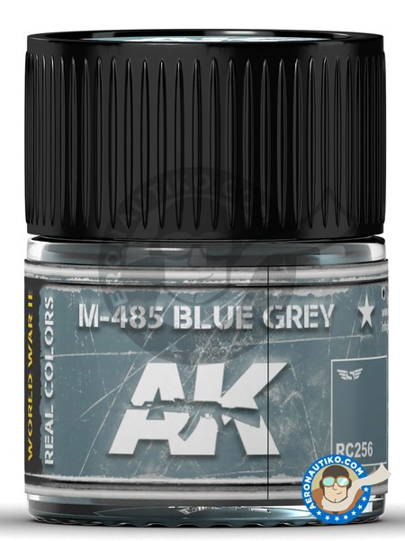 M-485 Blue Grey color | Real color manufactured by AK Interactive (ref. RC256) image