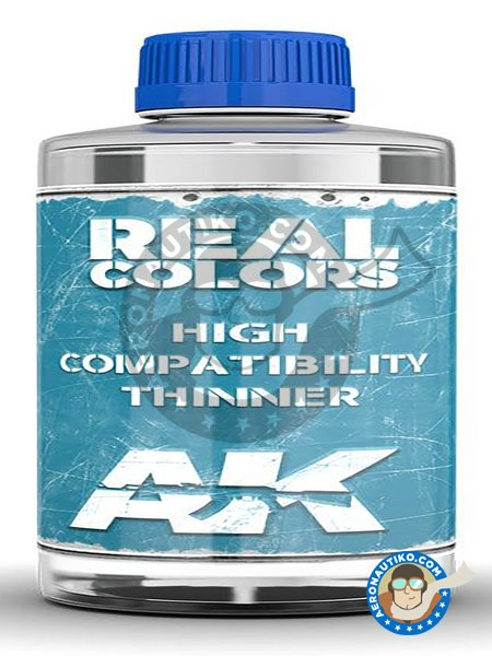 Real Colors Thinner | Thinner manufactured by AK Interactive (ref. RC702) image