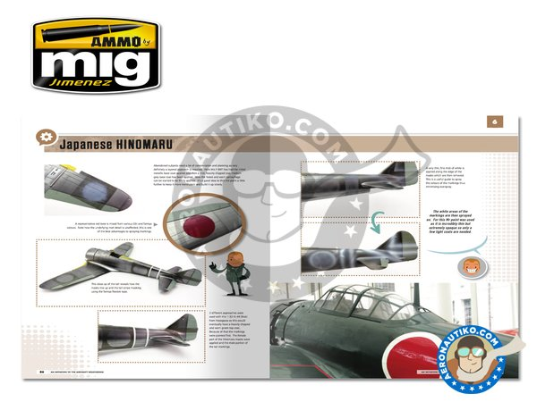 Image 5: Modelling School: Initiation to Aircraft Weathering | Book manufactured by AMMO of Mig Jimenez (ref. A.MIG-6030)