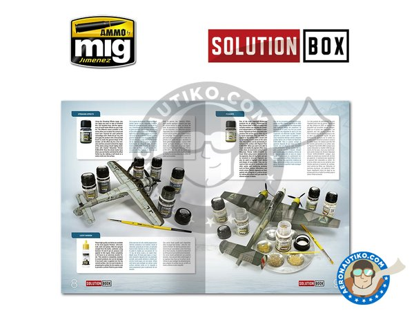 Image 4: WWII LUFTWAFFE LATE FIGHTERS SOLUTION BOX | Solution box manufactured by AMMO of Mig Jimenez (ref. A.MIG-7702)