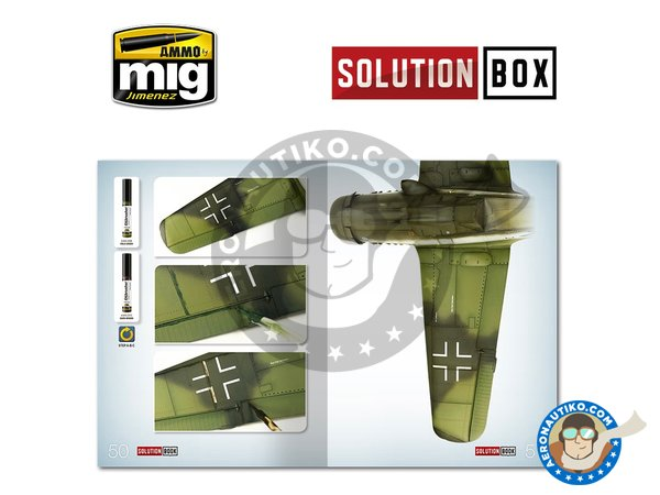 Image 5: WWII LUFTWAFFE LATE FIGHTERS SOLUTION BOX | Solution box manufactured by AMMO of Mig Jimenez (ref. A.MIG-7702)