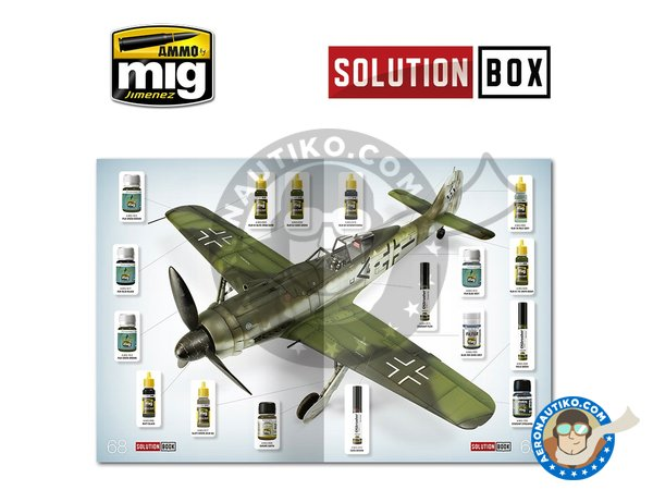 Image 6: WWII LUFTWAFFE LATE FIGHTERS SOLUTION BOX | Solution box manufactured by AMMO of Mig Jimenez (ref. A.MIG-7702)