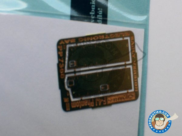 Image 2: Electronic bay for F-4 Phantom II | Electronic bay in 1/72 scale manufactured by Aires (ref. AIRES-7360)