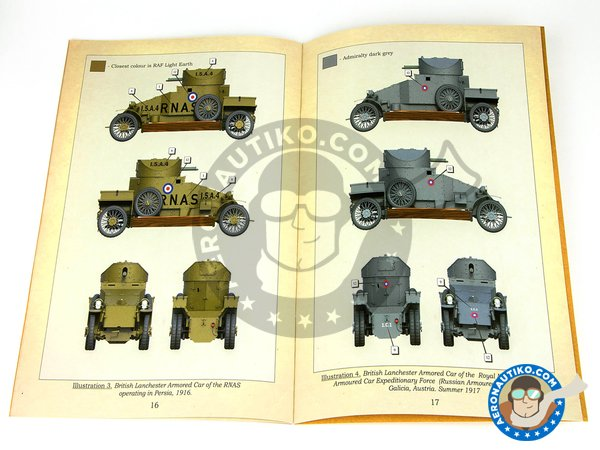 Image 6: Lanchester Armoured Car | Military vehicle kit in 1/35 scale manufactured by Copper State Models (ref. CSM35001)