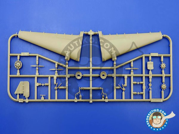Image 2: Junkers Ju-52 | Airplane kit in 1/144 scale manufactured by Eduard (ref. 4424)