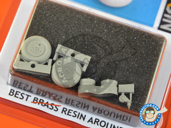 Image 2: Mitsubishi A6M Zero 5c Zeke Type 52 | Brassin detail up set in 1/32 scale manufactured by Eduard (ref. 632087)
