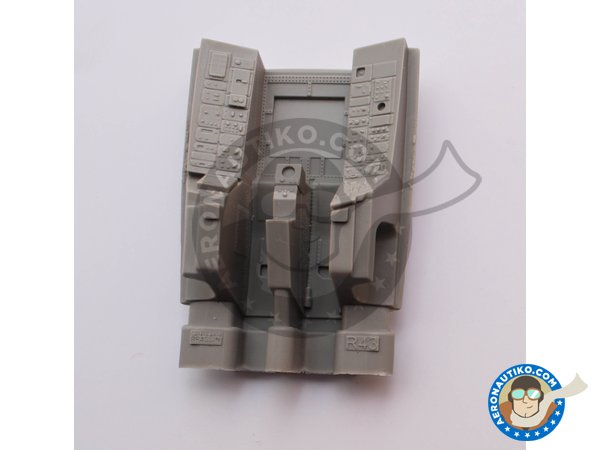 Image 3: Resin cockpit for F-14D | Cockpit set in 1/48 scale manufactured by Eduard (ref. 648457)