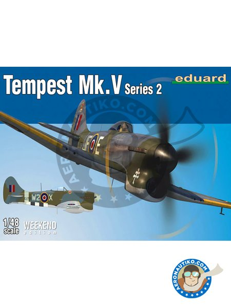 Tempest Mk.V series 2 | Airplane kit in 1/48 scale manufactured by Eduard (ref. 84170) image