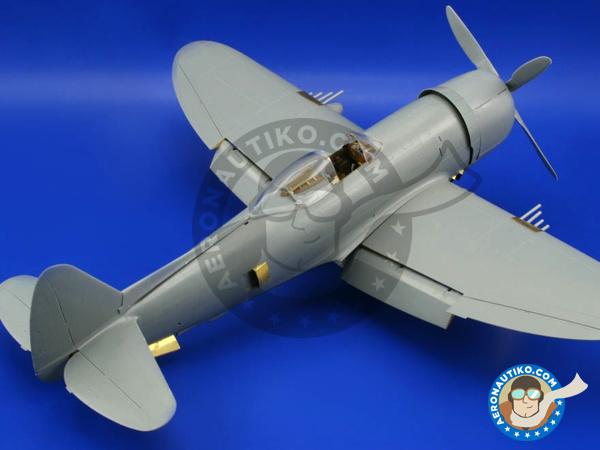 Ätzsatz Eduard Accessories Fe326-1:48 P-47N Thunderbolt Für Academy Bausatz
