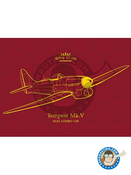 Tempest Mk.V | Airplane kit in 1/48 scale manufactured by Eduard (ref. R0018) image