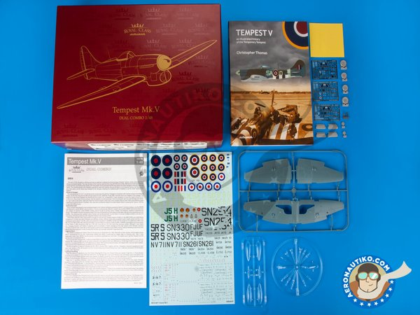 Image 1: Tempest Mk.V | Airplane kit in 1/48 scale manufactured by Eduard (ref. R0018)