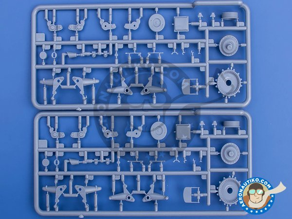 Image 8: Kreuzer Panzerkampfwagen Mk. II, 742(e), (A-10) | Tank kit in 1/35 scale manufactured by Gecko Models (ref. 35GM0005)