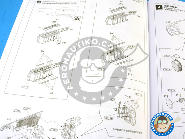 Image 22: McDonnell Douglas F-15 Eagle C MSIP II | Airplane kit in 1/48 scale manufactured by Great Wall Hobby (ref. L4817)