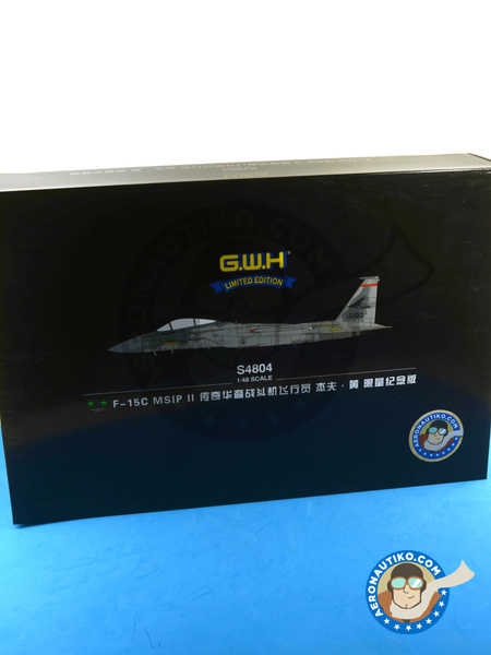 McDonnell Douglas F-15 Eagle C MSIP II | Airplane kit in 1/48 scale manufactured by Great Wall Hobby (ref. S4804) image