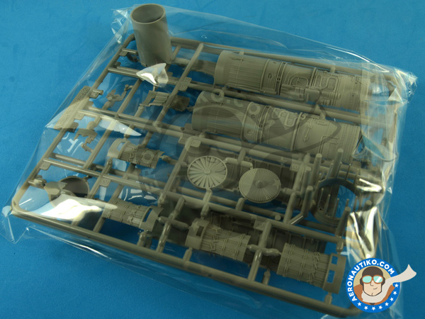 Image 8: McDonnell Douglas F-15 Eagle C MSIP II | Airplane kit in 1/48 scale manufactured by Great Wall Hobby (ref. S4804)