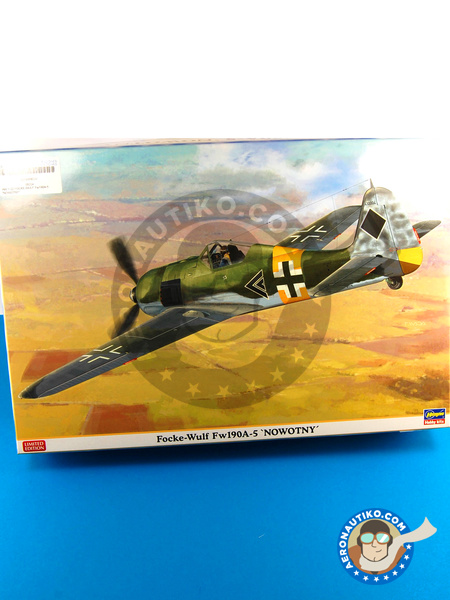 Focke-Wulf Fw 190 Würger A-5 | Airplane kit in 1/32 scale manufactured by Hasegawa (ref. 08224) image