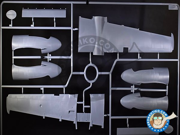 Image 2: B-26B-50 Invader Korean War American Bomber | Airplane kit in 1/48 scale manufactured by ICM (ref. 48281)