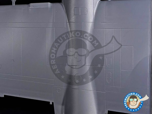 Image 7: B-26B-50 Invader Korean War American Bomber | Airplane kit in 1/48 scale manufactured by ICM (ref. 48281)