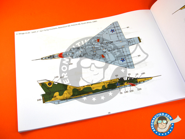 Image 20: Dassault Mirage III E / R | Airplane kit in 1/32 scale manufactured by Italeri (ref. 2510)