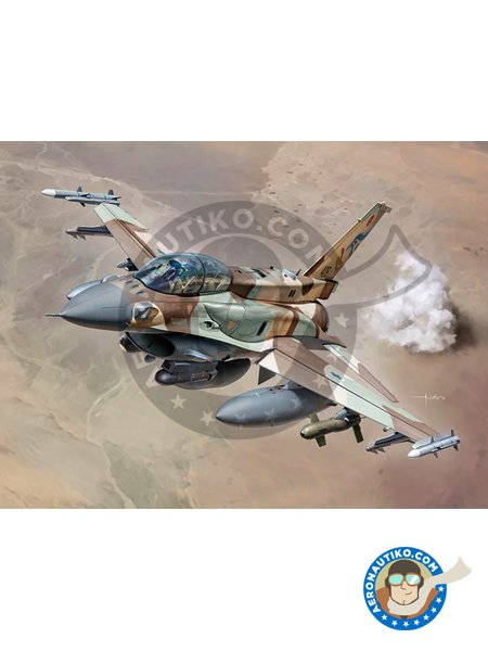 Lockheed Martin F-16I Sufa. Israel Air Force | Airplane kit in 1/48 scale manufactured by Kinetic Model Kits (ref. K48085) image