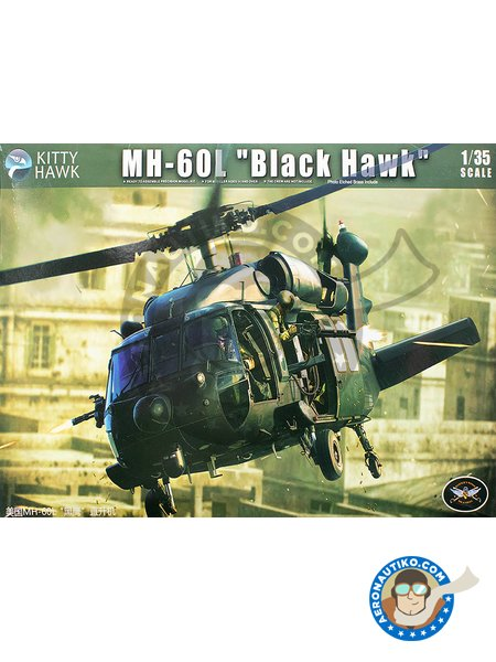 MH-60L Blackhawk | Helicopter kit in 1/35 scale manufactured by Kitty Hawk (ref. KH50005) image