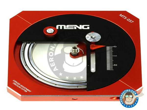 Image 1: Hobby Circle Cutter | Blade manufactured by Meng Model (ref. MTS-037)