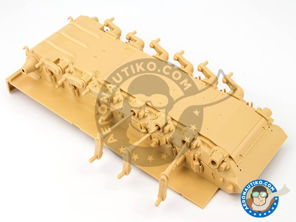 Image 7: Leopard 2 A7 + | Tank kit in 1/35 scale manufactured by Meng Model (ref. TS-042)
