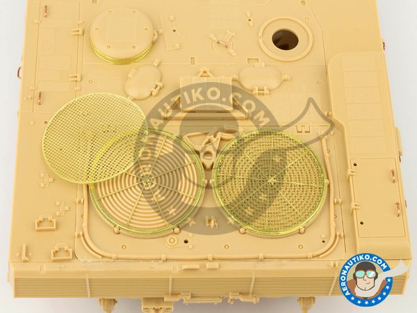 Image 10: Leopard 2 A7 + | Tank kit in 1/35 scale manufactured by Meng Model (ref. TS-042)