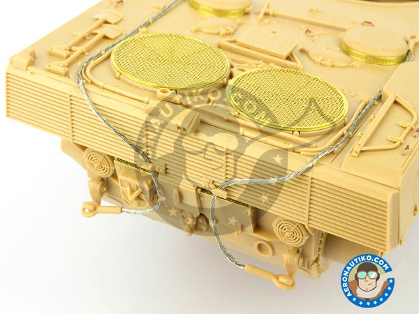 Image 11: Leopard 2 A7 + | Tank kit in 1/35 scale manufactured by Meng Model (ref. TS-042)