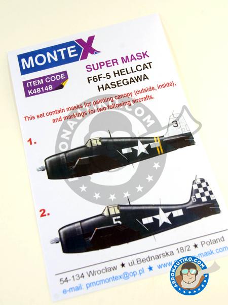Montex Mini Mask 1:48 Farman F-80 A for Hobby Boss Spraying Stencil #SM48386