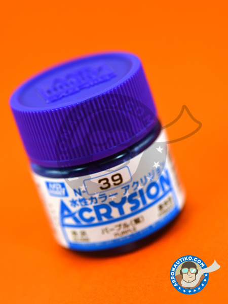 Purple | Acrysion Color paint manufactured by Mr Hobby (ref. N-039) image