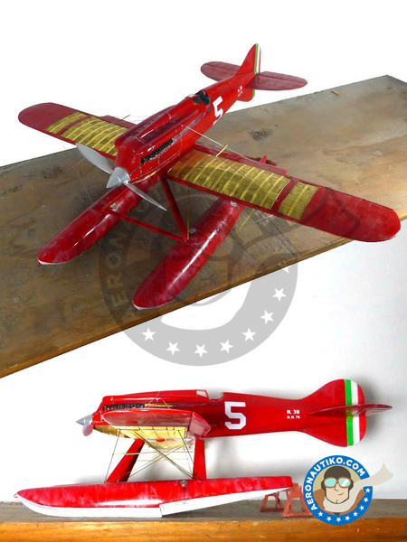 Macchi M39 | Airplane kit manufactured by Profil24 (ref. P24PLANE02) image