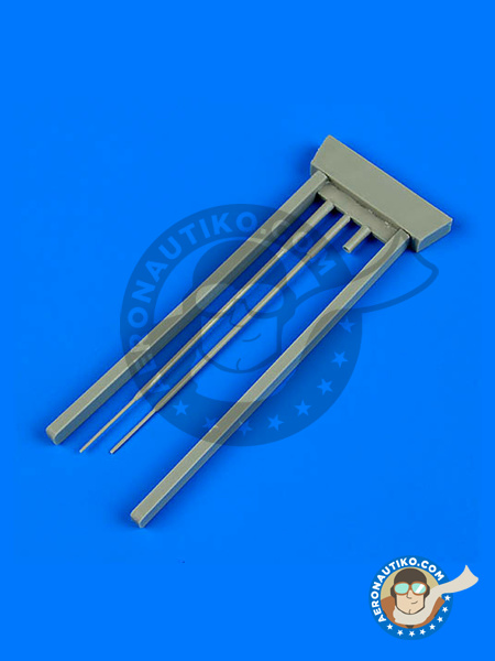 Sukhoi Su-9 Fishpot | Pitot tube in 1/48 scale manufactured by Quickboost (ref. QB48678) image