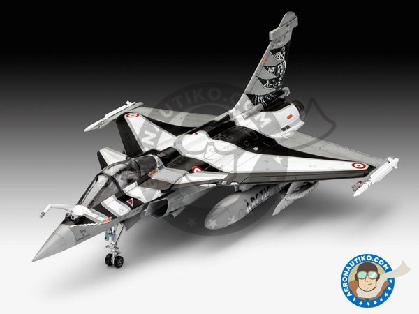 Image 1: Dassault Rafale C | Airplane kit in 1/48 scale manufactured by Revell (ref. 03901)