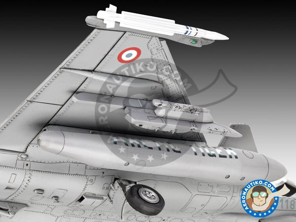 Image 3: Dassault Rafale C | Airplane kit in 1/48 scale manufactured by Revell (ref. 03901)