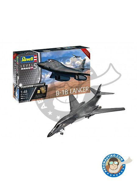 Rockwell B-1B Lancer | Airplane kit in 1/48 scale manufactured by Revell (ref. 04963) image