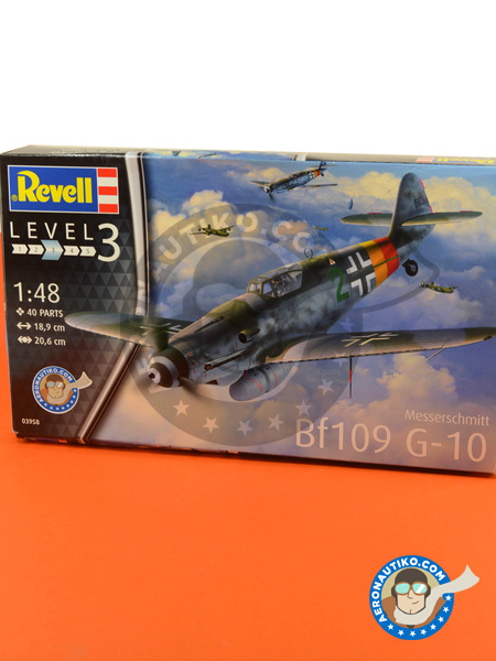 Messerschmitt Bf 109 G-10 | Airplane kit in 1/48 scale manufactured by Revell (ref. REV03958) image