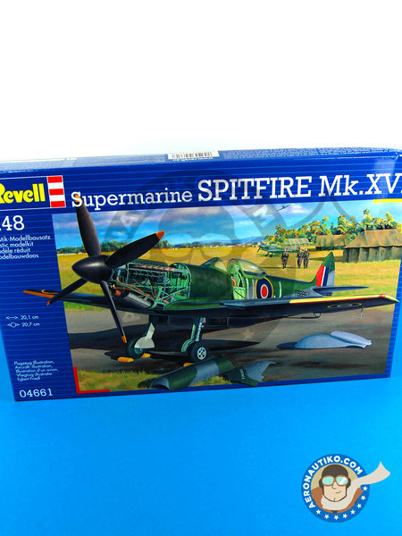 Supermarine Spitfire Mk. XVI | Airplane kit in 1/48 scale manufactured by Revell (ref. REV04661) image