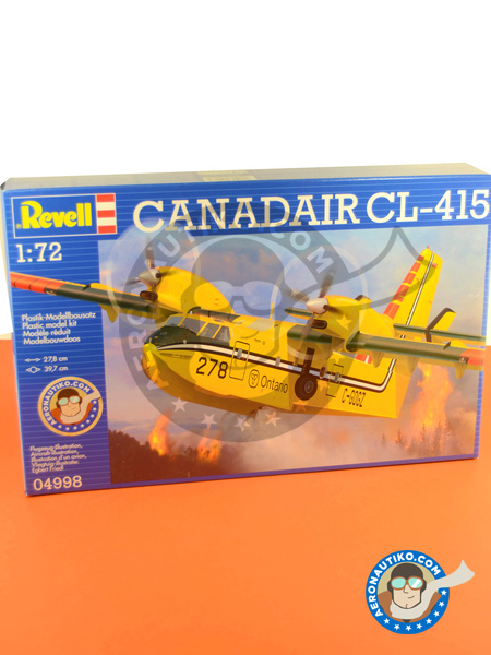 Canadair CL-415 | Airplane kit in 1/72 scale manufactured by Revell (ref. REV04998) image