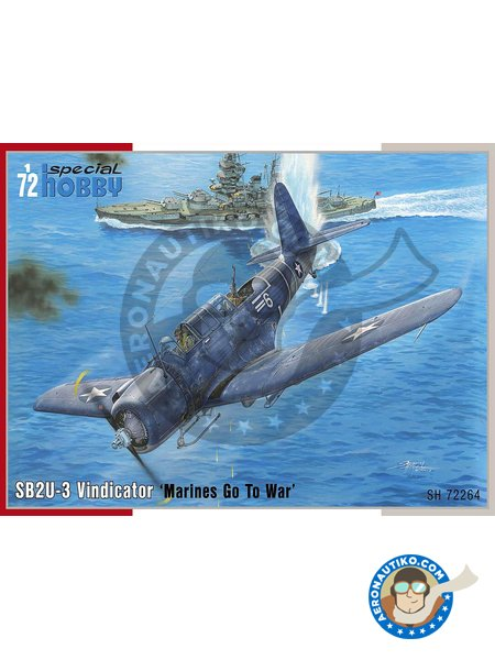 "SB2U-3 Vindicator ""Marines Go To War"" 