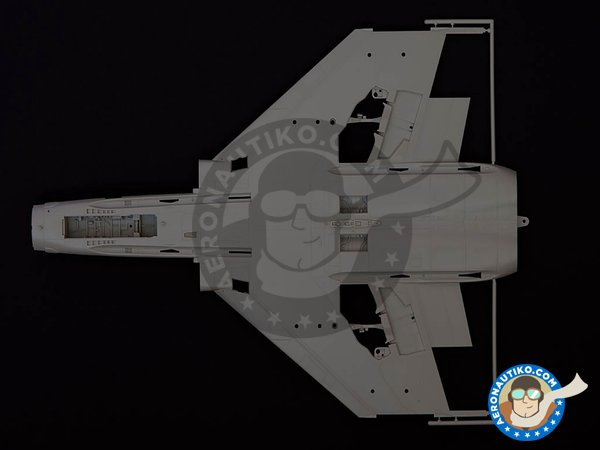 Image 5: McDonnell Douglas F-4E Phantom II Early Production | Airplane kit in 1/32 scale manufactured by Tamiya (ref. 60310)